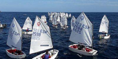 Campeonato Baleares de Optimist dia 3