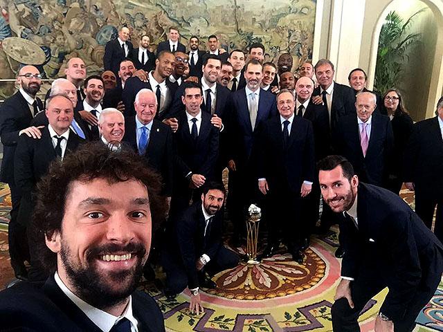 Selfie Real de Sergi Llull