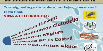 cartell Cloenda Badminton