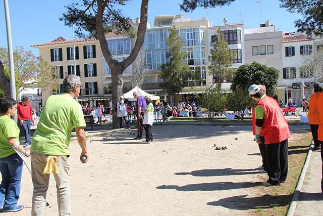 Campionat de Menorca de Petanca Adaptada per dupletes