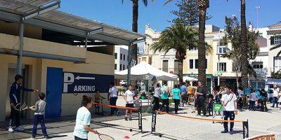 El Club Tenis Mahón en la Festa de s'Esport