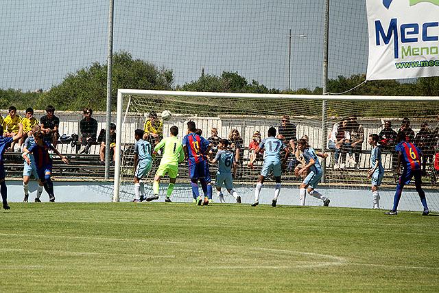 Final MecupU-15 Barça-Manchester City