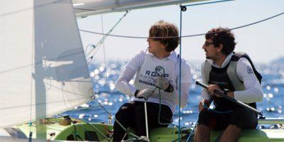 Jordi Triay y Sara Franceschi