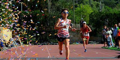 María Pallicer-Arribada mitja Marató Pollença