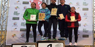 PodioGuanyadors-Mitja Marató de Fornells