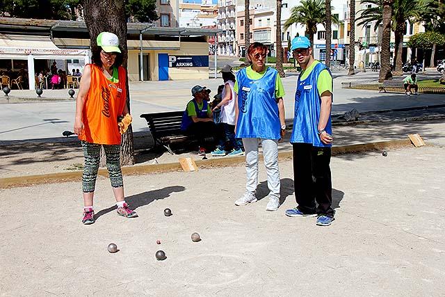 3ª j-campionat de Menorca de petanca adaptada