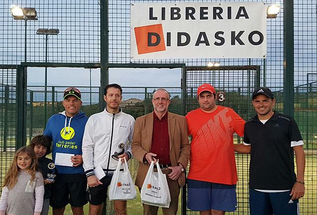 Torneo de Pádel Didasko-Campeones 1ª categoría masculina