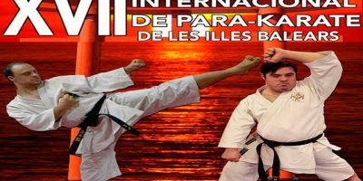 Cartell Cto Internacional de Para-karate IB