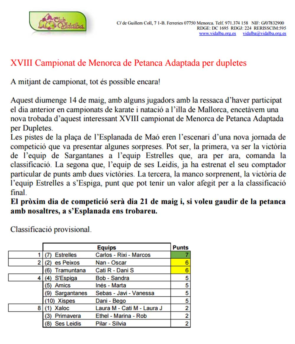 Cronica 3º J