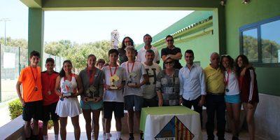Entrega trofeos Campeonato Baleares Cadete
