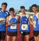 Record de Menorca en el 4×400 masculino en el Balear de clubes de atletismo