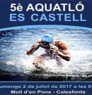 Diumenge 5è Aquatló Es Castell a nes Moll d'en Pons