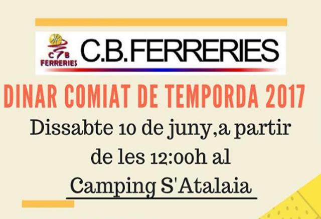 Cartell dinar CB Ferreries