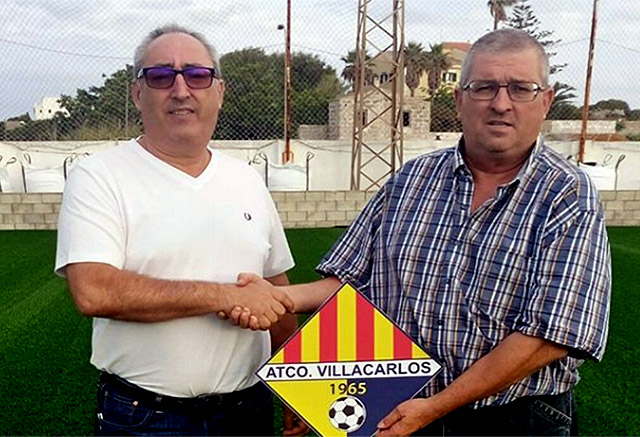 Lluis Vidal, entrenador del Villacarlos juvenil