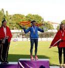 Primer Oro para Menorca de la mano de la atleta Ángela 'Lita' López