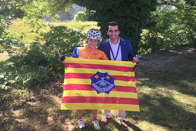 Núria Bosch Pico -Medalla bronze ciclisme
