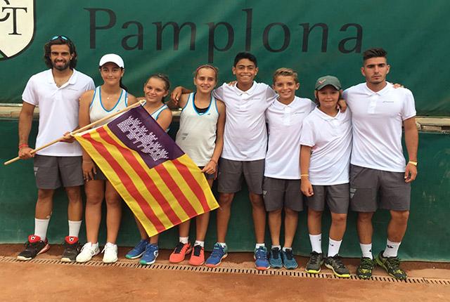 Tenistas de Balears en el Campeonatode España Alevín