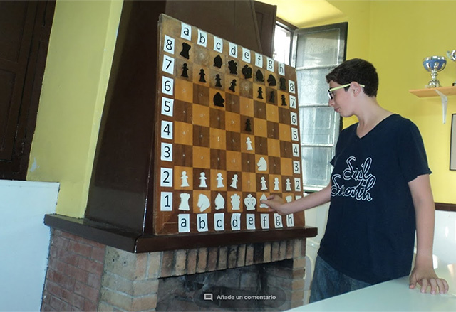 Curso en la escuela de ajedrez del Centro de Cultura des Castell