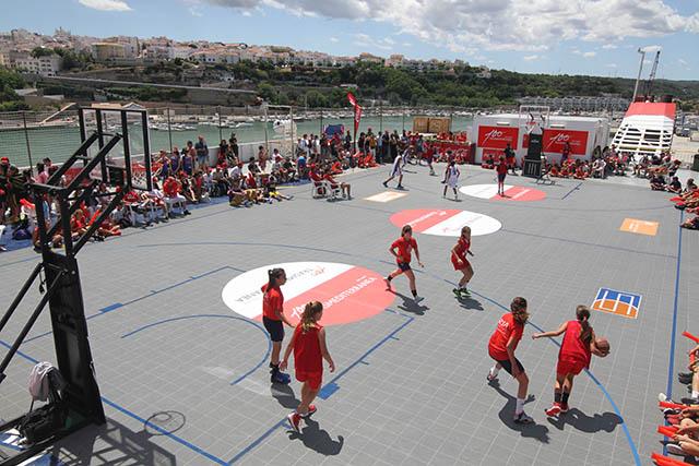 Basquet 3x3 Trasmediterranea
