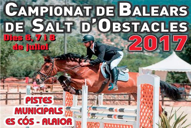 Cartell Balears salt d'obstacles