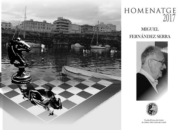 HOMENATGE 2017 MIQUEL FERNANDEZ SERRA