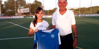 JESSICA HIDALGO-Fichaje Sporting de Mahón
