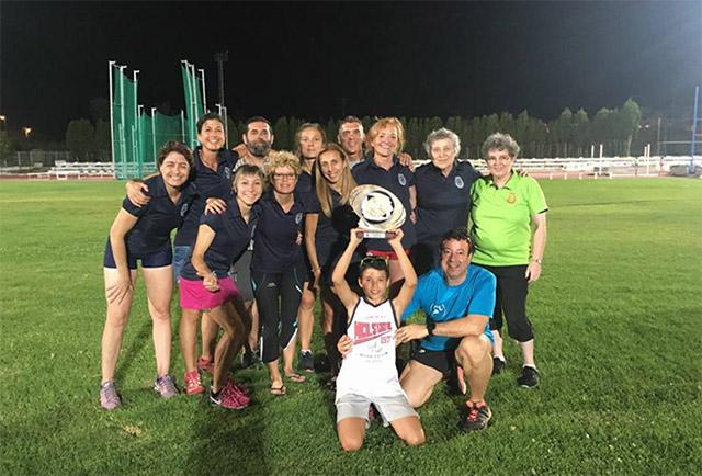 Lita Lopez campeona España veteranas CA Manresa