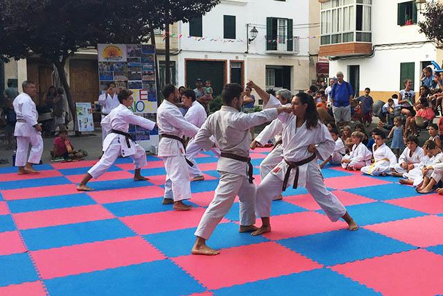 6a Exhibició De Karate De Sant Llorenç 2017
