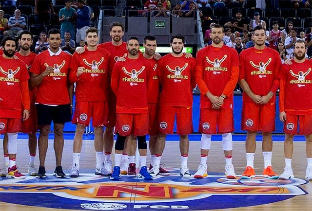 Apoyo a Llull-Seleccion Española de baloncesto