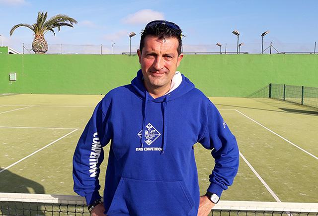 Ulises Ruz, director-técnico del Club Tenis Mahón