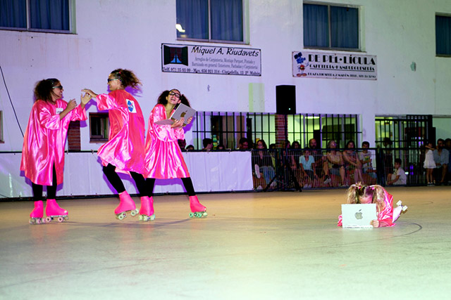 Festival de la Escuela de Patinaje Artístico UD Mahón