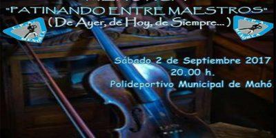 Cartell Festival patinatge EPA Menorca