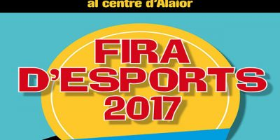 Cartell Fira d'Esports 2017
