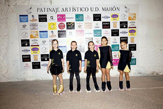 03 MINI PROMESAS-Presentación Escuela Patinaje Artístico UD Mahón