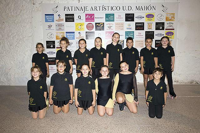 05 JOVENES PROMESAS-Presentación Escuela Patinaje Artístico UD Mahón