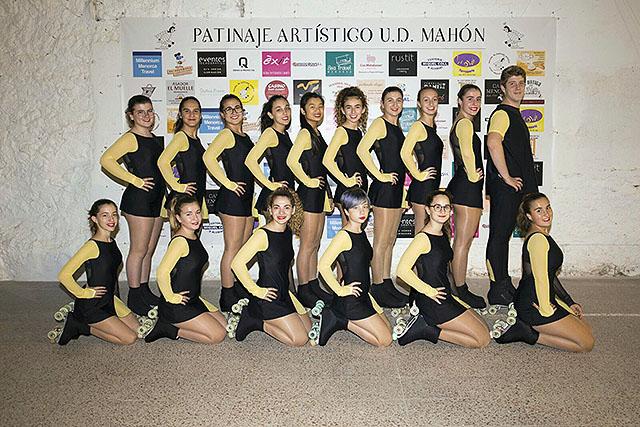08 ELITE-Presentación Escuela Patinaje Artístico UD Mahón