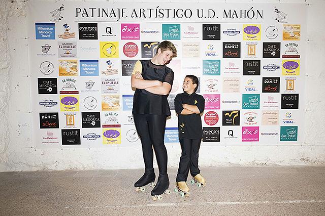 09 CHICOS-Presentación Escuela Patinaje Artístico UD Mahón