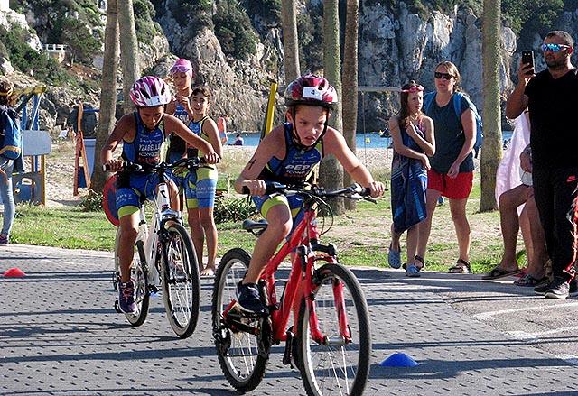 2o Triatlón Escolar Menorca-Cala en Porter