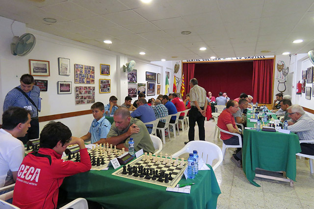 64 edición del Insular absoluto de ajedrez
