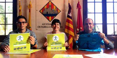 cartell Mitja Marató de Menorca 2017