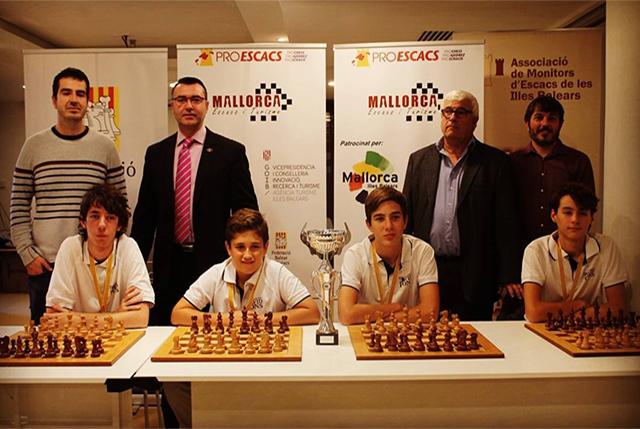 Alumnes de David Pons ganan elArtur Pomar de ajedrez