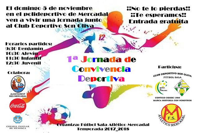 CARTEL Convicencia Futbol Sala