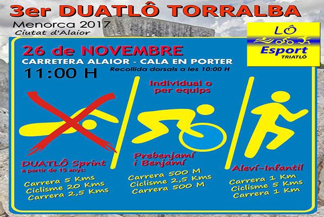 Cartel III Duatlô Torralba