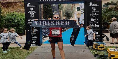 Maria Fiol-Finisher-campeona de la Liga Balear de carreras por montaña