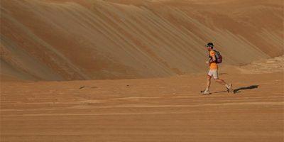 Raül Riudavets-Maratón desierto Oman-Finish
