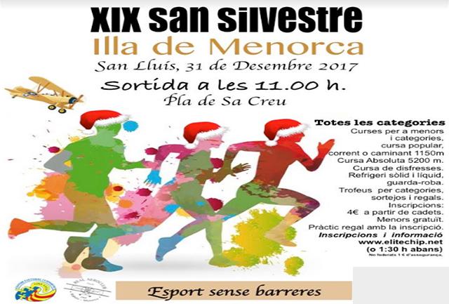 Cartell San Silvestre-Sant Lluís