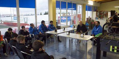 Escuela Porteros Menorca-Visita Joan Capó