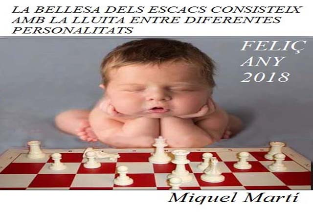 Felicitació d'Escacs 2018