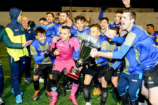 UD Mahón campeón Copa Regional