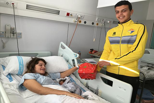 Visita Villacarlos- hospital